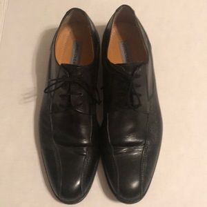 J&M men's black dress shoes for tux or suit sz 10